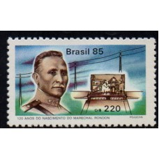 C-1453 - 120 Anos do Nasc. do Mal. Rondon - 1985