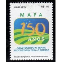 C-3002 - 150 Anos do Ministério da Agricultura, Pecuária e Abastecimento - 2010