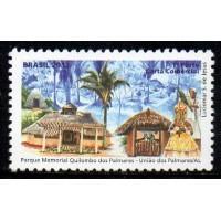 C-3239 - Parque Memorial Quilombo dos Palmares - 1° Porte Carta Comercial - 2012