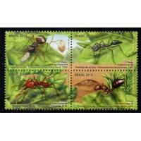 C-3280/3283 (conjunto) - Formigas do Brasil - 1° Porte Carta Comercial - 2013