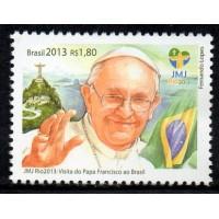 C-3290 - Jornada Mundial da Juventude JMJ Rio/2013: Visita do Papa Francisco ao Brasil - 2013