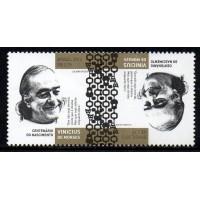 C-3309 (par) - Centenário do Nascimento de Vinícius de Moraes - 2013