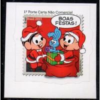 C-3311 - Natal, Festa do Amor e da Fraternidade - 1° Porte Carta Não Comercial e Comercial - 2013