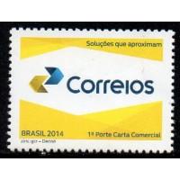 C-3362 - Nova Marca dos Correios - 1° Porte Carta Comercial - 2014