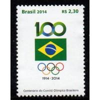 C-3367 - Centenário do Comitê Olímpico Brasileiro - 2014
