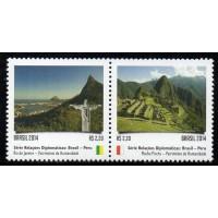 C-3374/3373 (conjunto) - Relações Diplomáticas: Peru - Patrimônios da Humanidade - 2014