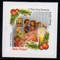 C-3391 - Natal 2014 - 1° Porte Carta Não Comercial e Comercial - 2014