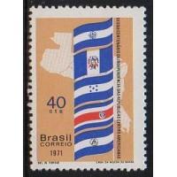 C-0706 - 150 Anos das Repúblicas Centro-Americanas - 1971