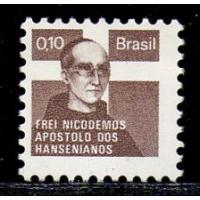 C-0913 B - Campanha Contra o Mal de Hansen, Frei Nicodemos - H-19 - Ano 1979