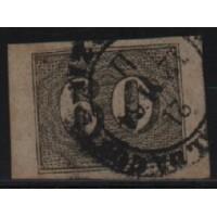 01/016- Império - Olho de Cabra - 60 Réis - N° 14 - Catálogo Marca 8 UF'S