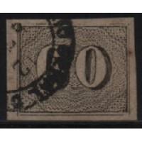 01/030 - Império - Olho de Cabra - 60 Réis - N° 14 - Catálogo Marca 8 UF'S