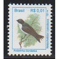 RHM 710 - Pássaros Urbanos Padrão Real - R$ - sem carimbo