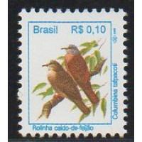 RHM 713 - Pássaros Urbanos Padrão Real - R$ - sem carimbo