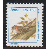 RHM 715 - Pássaros Urbanos Padrão Real - R$ - sem carimbo