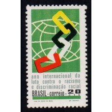 C-0694 - Ano Int. contra o Racismo -  Ano 1971