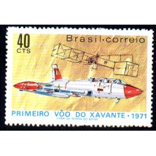 C-0705 - 1º Voo do Xavante -  Ano 1971